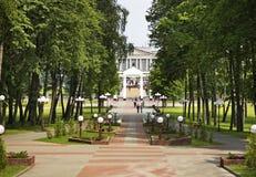 Victory Park en Maladzyechna belarus Fotos de archivo libres de regalías