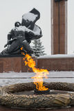Victory Park Eternal Flame Great Patriotic War Memorial Royalty Free Stock Photography