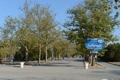 Victory Park i Sebastopol Royaltyfri Fotografi