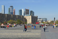 Victory Park in Moscow Royalty Free Stock Images