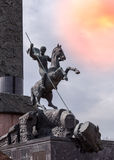 Victory Park on the Poklonnaya Gora Moscow Stock Image