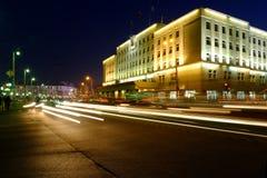 Victory (Pobedy) square. Kaliningrad Royalty Free Stock Photos