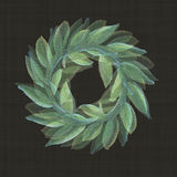 Victory Roman  Laurel Wreath in a repeat pattern Stock Images