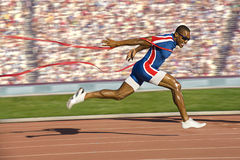 Victory Runner Royalty Free Stock Image