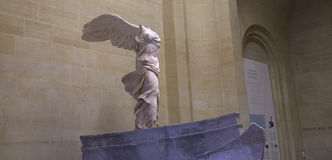 Victory of Samothrace, The Louvre, Paris, France Stock Image