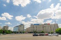 Victory Square Royaltyfri Bild