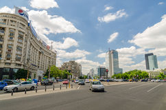 Victory Square In Bucharest Royalty Free Stock Images