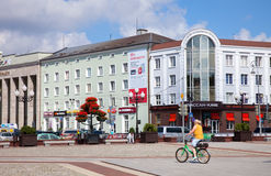 Victory Square in the Kaliningrad, Russia. Royalty Free Stock Images