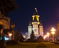 Victory square, Timisoara Stock Photo