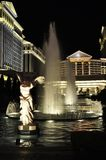 Victory Statue and Caesars Palace - Las Vegas, USA Royalty Free Stock Photo
