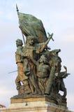 Victory Statue en Roma Imágenes de archivo libres de regalías