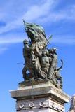 Victory Statue en Roma Foto de archivo