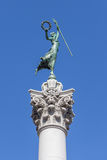 Victory Statue in Union Square, San Francisco, California Stock Photos