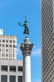 The Victory statue in Union Square, San Francisco Stock Photo