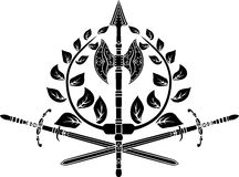 Victory symbol vector illustration