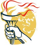 Victory Torch Stock Image