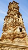 Victory tower. Cittorgarh Fort, India Stock Photo