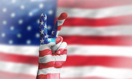 Victory for the USA Stock Images