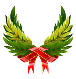 Victory wreath Royalty Free Stock Images