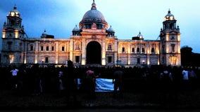 Victotia-Palast Kolkata Lizenzfreie Stockfotos
