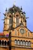 Victroia ändstation, Mumbai Arkivfoton