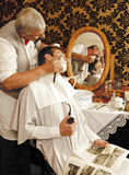 Victrorian Shave Stock Image