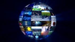 Vidéo abstraite de technologie de fond illustration libre de droits