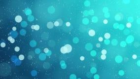 Vidéo animée de HD des lumières de Noël clips vidéos