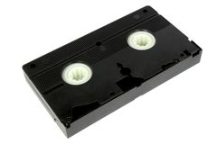 Vidéo cassette3 photo stock