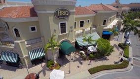Vidéo d'antenne de Gill Hallandale FL de brio banque de vidéos