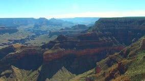 Vidéo d'antenne de Grand Canyon banque de vidéos