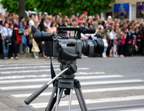 vidéo d'appareil-photo images stock