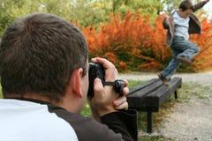 vidéo d'enregistrement Photographie stock libre de droits