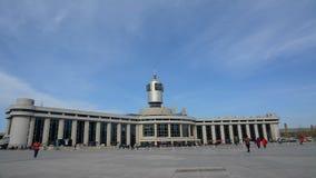Vidéo de laps de temps de gare ferroviaire de Tianjin banque de vidéos