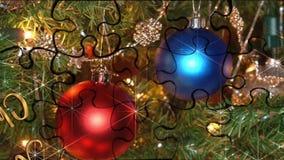 Vidéo de Noël pour les vacances 2017 illustration stock