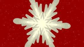Vidéo de rendu de Joyeux Noël dans HD illustration de vecteur