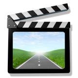 Vidéo de voyage de famille Photographie stock libre de droits