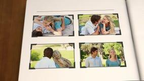 Vidéo des couples en parc illustration libre de droits