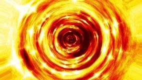 Vidéo sans couture de boucle de tunnel du feu