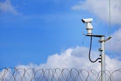 Vidéo surveillance de preuve de temps Images libres de droits