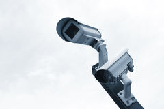 Vidéo surveillance, télévision en circuit fermé Photographie stock libre de droits