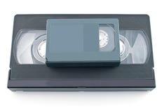 Vidéocassette compacte et VHS Image stock