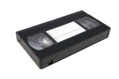 Vidéocassette de cassette de cassette vidéo de VHS Photographie stock libre de droits