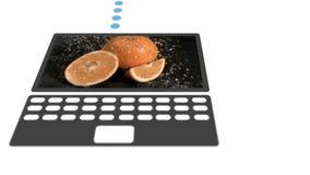 Vidéos animées lentes sur dispositifs digitalement créés banque de vidéos