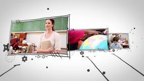 Vidéos des élèves dans la salle de classe clips vidéos
