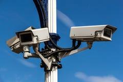 Vidéos surveillance Photographie stock