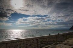 Vid havet Fotografering för Bildbyråer