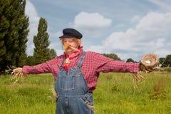 vid liv scarecrow Arkivfoto