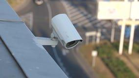 Vid?o surveillance sur un b?timent clips vidéos