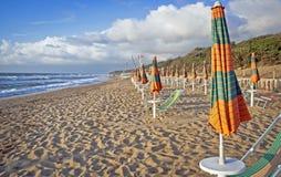 Vid stranden i Italien 3 Royaltyfria Foton